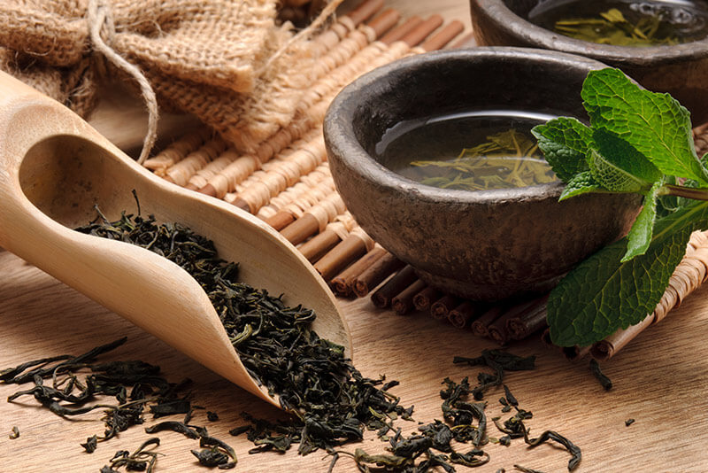 THE AMAZING HEALTH PROPERTIES OF GREEN TEA
